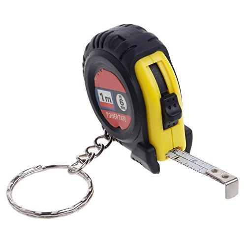 cuigu Meter Schleifenband Aufrollfunktion 1m/FT 0102282714Metric & Maßband in Zoll und metrisch für Bau Mini Tasche Outillage de Mesure