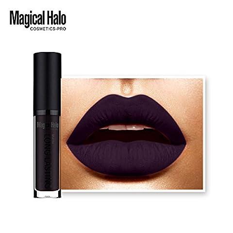 Malloom Rouge à Lèvres Mat Imperméable à L'eau Rouge à Lèvres Liquide Brillant à Lèvres Longue