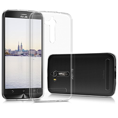 kwmobile ASUS Zenfone Go 2017 (ZB500KL) Hülle - Handyhülle für ASUS Zenfone Go 2017 (ZB500KL) - Handy Case in Transparent
