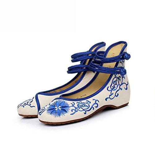 Lazutom , Mary Janes pour femme Bleu