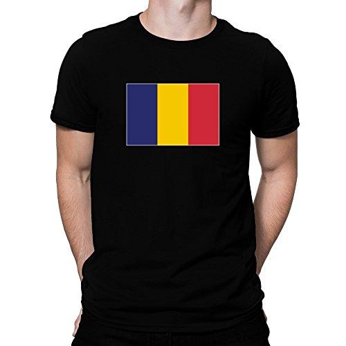 Teeburon Chad Flag T-Shirt (T-shirt Flag Chad)