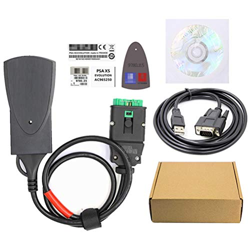 DOFCOC Kfz-Fehlerdiagnoseinstrument, Lexia3 PP2000 mit Diagbox V7.83, geeignet für Citroen und Peugeot, OBD2-Erkennung