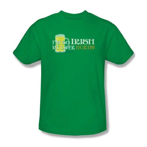 So Irish-Maglietta da uomo, colore verde Kelly Verde - Kelly green