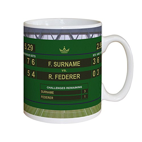 Personalised Tennis Mug (Male)