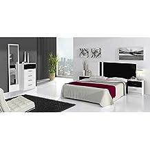 Dormitorios matrimonio completos dormitorio adultos habitacion completa ref-01