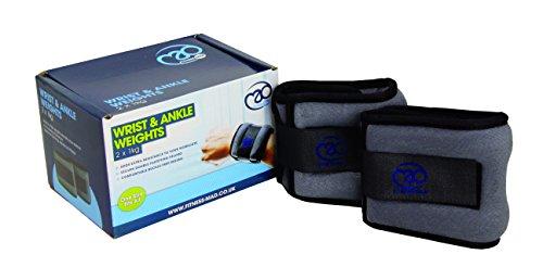 Fitness-Mad Handgelenk- und Knöchelgewichte 1 kg