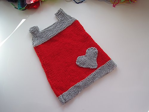 Strickanleitung Babykleid Gr.62/68: Ideal für Anfänger