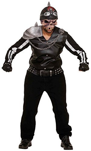otorcycle Rider Costume Adult Standard (Motorcycle Rider Kostüm)