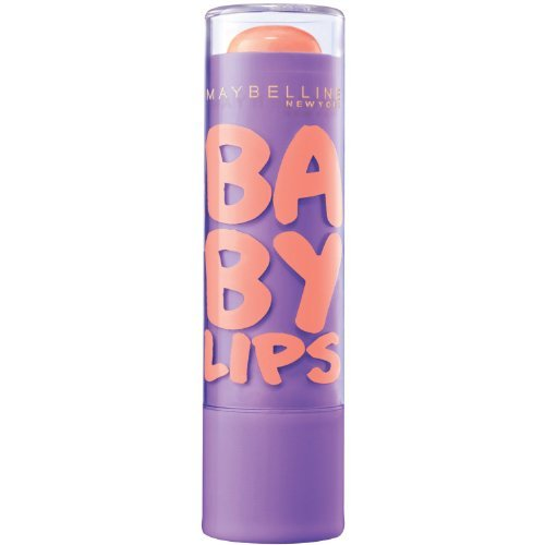 Maybelline New York Baby Lips Moisturizing Lip Balm - Peach Kiss (Pack of 2) by Maybelline