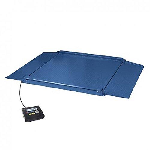 Gram 0004510 Báscula Industrial con Doble Rampa de Acceso Integrada para Todo Tipo de Aplicaciones Industriales y de Almacén de Alta Carga, Capacidad de 1.500 kg y Resolución 500, 00 g