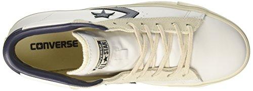 white black Herren Pro turtledove Weiß Lthr Sneakers Mid Converse Vulc w0gd8qqx7