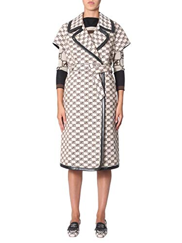 Alberta Ferretti Luxury Fashion Damen 063166451009 Weiss Trench Coat | Herbst Winter 19 8