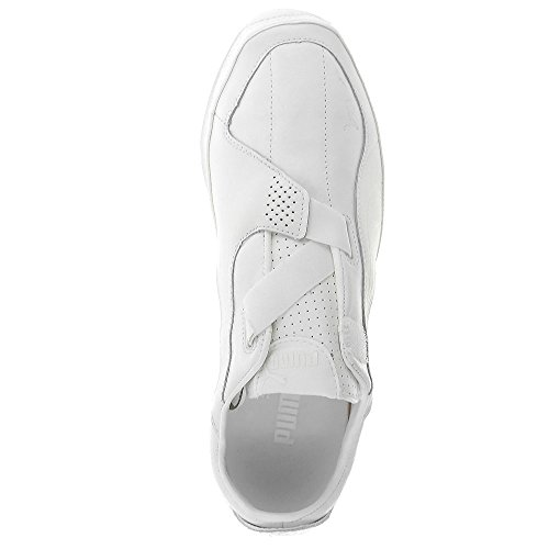 Puma Furio leather velcro 30212405, Baskets Mode Homme Blanc