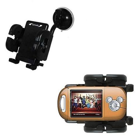 Windschutzscheibenhalterung für das Disney High School Musical Mix Stick MP3 Player DS17019 - Schwanenhals mit Saughalterung und Cradle