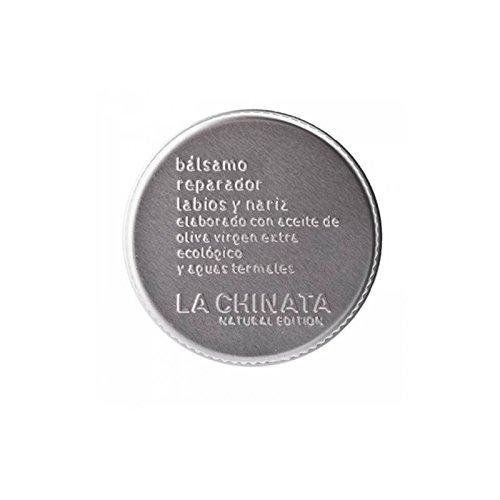 Reparador bálsamo para labios y nariz elaborado con aceite de oliva virgen extra ecológico marca La Chinata