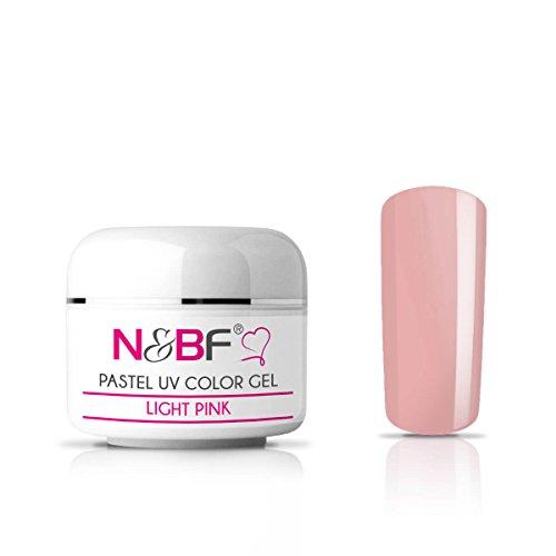 Gel couleur Pastel Light Pink 5 ml-UV gel de couleur - très opaque Gel UV couleur