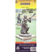 Carte routière : Ghana