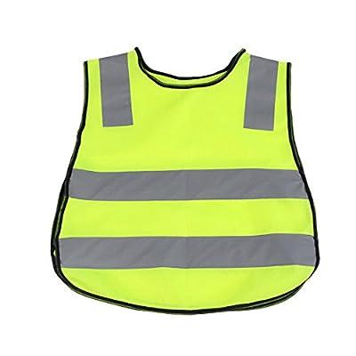 YeahiBaby Sicherheitsweste Reflektierende Warnweste für Kinder im Freien(grün)