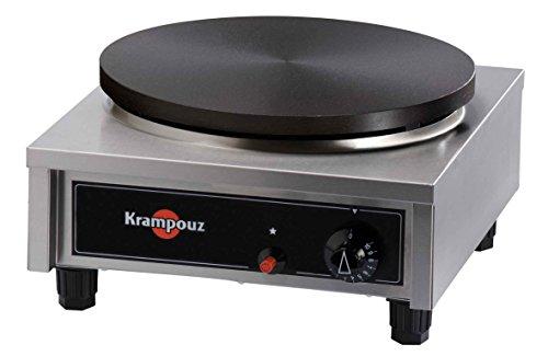 Crepes maker Crepesgerät 40cm Krampouz Komfort Eckig Gas Manuell