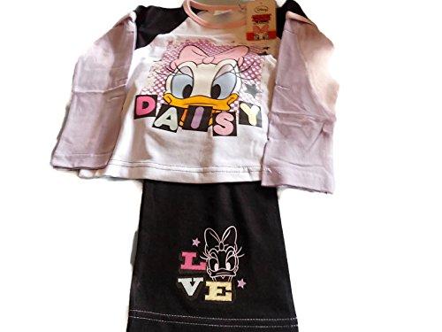 Disney Minnie Mouse Daisy Duck Mädchen Lange Pyjama 7-8yrs