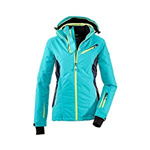Killtec Damen Erlya Skijacke / Snowboardjacke / Funktionsjacke mit abzippbarer Kapuze und Schneefang