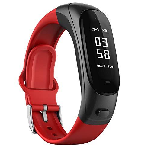 LJSHU Smart Watch oreillette Bluetooth sans Fil Bracelet..