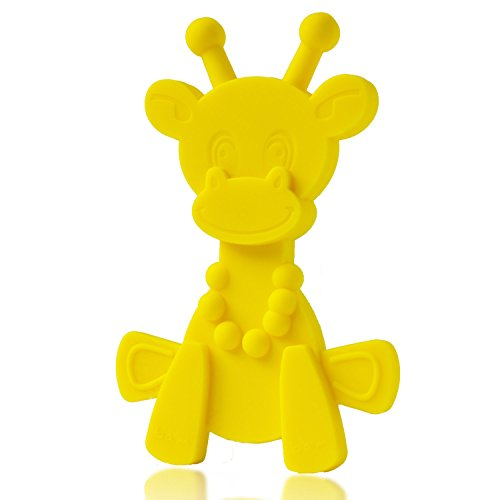 Baby Teething Toy Extraordinaire – Little bamBAM Giraffe Teether Toys by Bambeado. Our BPA Free Teethers help take the stress out of Teething, from Newborn Baby through to Infant. 41C9a9wbmwL