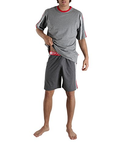 Punto Blanco - Pyjama court Body Fit - (Gris/S)