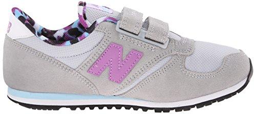 New Balance Nbke420c1p, gymnastique mixte adulte Jaune (Grey Purple)