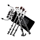 RUISIKIOU Make-up-Pinsel-Set, 5 PCS Magic Wizardwand Makeup Brush Set Kosmetik Ostern Geschenk Zauber