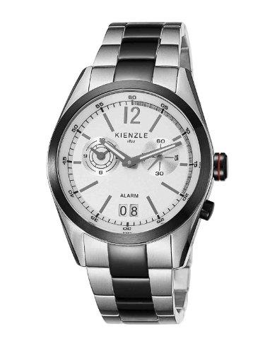 Kienzle K3071121062-00087 - Reloj analógico de cuarzo para hombre con correa de acero inoxidable, color multicolor