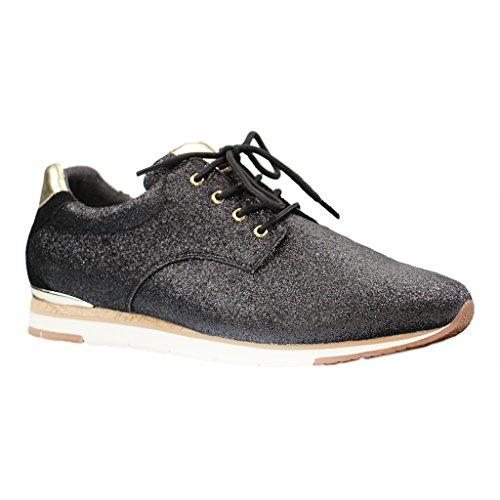 Gabor 64.320.47, Sneaker donna Nero