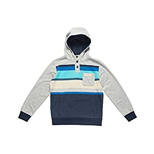 RIP CURL Jungen Multi Stripe Hooded Fleece Sweatshirt