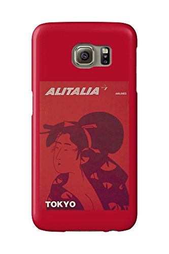 alitalia-tokyo-vintage-poster-italy-c-1960-galaxy-s6-cell-phone-case-slim-barely-there