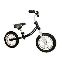 LittleBambino Children's Balance Bicycle | Running Walking Training Bike | Boys Girls | Black