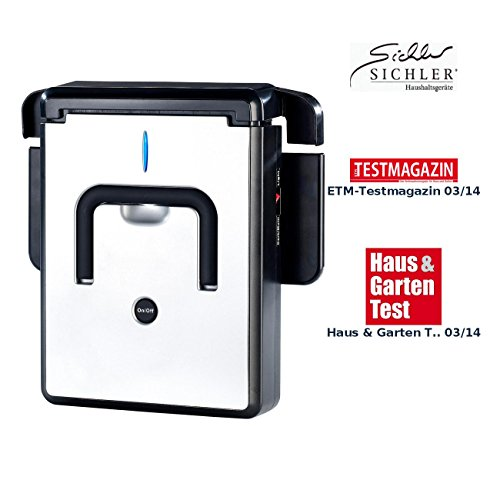 Sichler Haushaltsgeräte Staubwischroboter: Kompakter Wischroboter PCR-1030 (Kehr-Roboter)