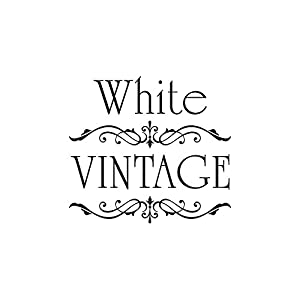 Möbeltattoo White Vintage Ornament Shabby Chic