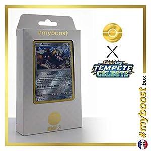 Heatran 98/168 Holo Reverse - #myboost X Soleil & Lune 7 Tempête Céleste - Box de 10 Cartas Pokémon Francés