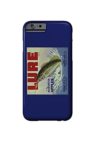 Oroville, Washington - Fishing Lure Brand Apple Label (iPhone 6 Cell Phone Case, Slim Barely There)