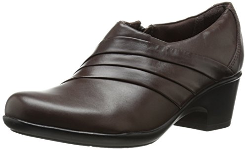 Clarks Genette Bend piatto Brown Leather