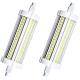 LEDs, 20 W, R7s, 118 mm, nicht dimmbar, metall, warmweiß, R7S, 20.00W 240.00V
