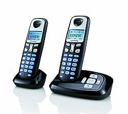 Grundig D210A mit AB Duo schnurloses Telefon