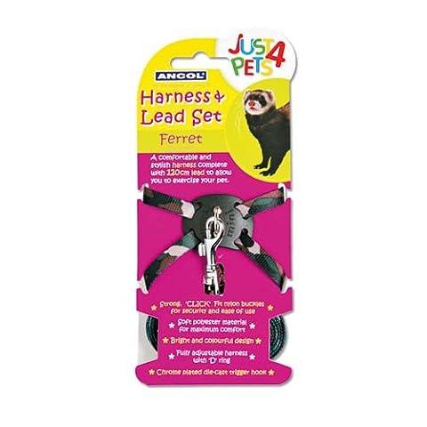 Ancol Just 4 Pets Ferret Harness & Lead Set