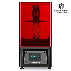Idea Regalo - ELEGOO Stampante 3D LCD per Fotopolimerizzante MARS UV con Schermo a Colori Smart Touch da 3,5