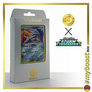 Solgaleo 99/168 Holo Reverse - #myboost X Sonne & Mond 7 Sturm Am Firmament - Box de 10 Cartas Pokémon Alemán