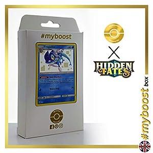 Frogadier SV12/SV94 Variocolor - #myboost X Sun & Moon 11.5 Hidden Fates - Box de 10 cartas Pokémon Inglesas