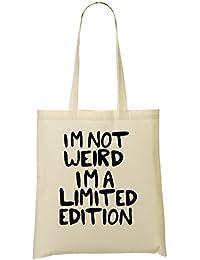 I'M Not Weird I'M Bolso De Mano Bolsa De La Compra