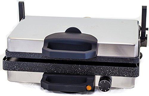 Roland Multigrill Kontaktgrill Elektrogill Tischgrill Toaster Granit/Marmor Antihaftbeschichtung Lahmacun Makinasi