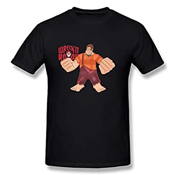 Men 39 S Wreck It Ralph Cartoon Game T Shirt