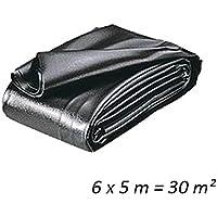 Teichfolien Zuschnitt PVC 0,5 mm 6 x 5 m = 30 qm